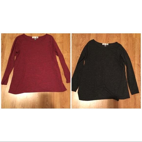 00636a6b0e887 Old Navy Tops | Nursing Shirtsset Of 2 | Poshmark